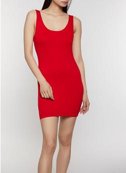Crepe Knit Bodycon Dress | 1410069390674 - 1410069390674