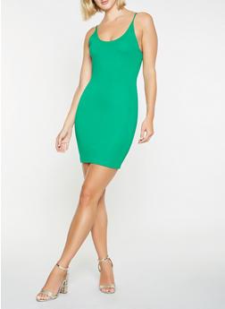Ponte Knit Tank Dress - 1410069393815
