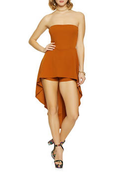 High Low Romper - 1410069394155