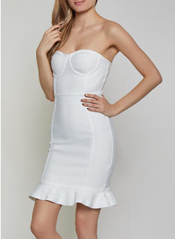 Bandage Tube Dress - 1410069394196