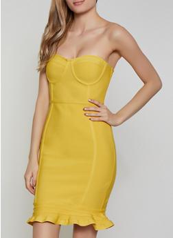 Bandage Tube Dress - 1410069394196