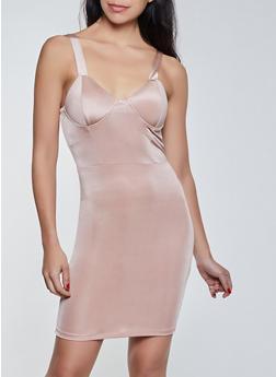 Spandex Bustier Dress - 1410069395782