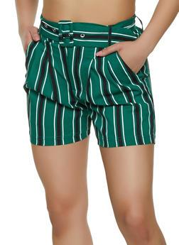 Womens Stripes Shorts