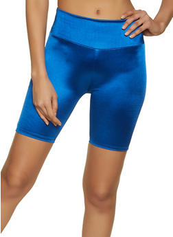 Shiny Spandex Bike Shorts - 1411058751670