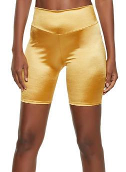 Shiny Spandex Bike Shorts - 1411058751670