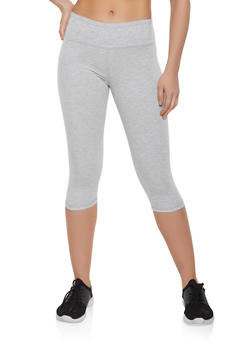 Solid Cropped Leggings | 1411062703258 - 1411062703258