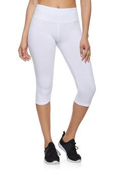 Solid Cropped Leggings | 1411062703258 - 1411062703258