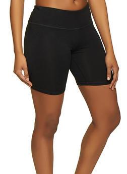 Cotton Bike Shorts - 1411062703259