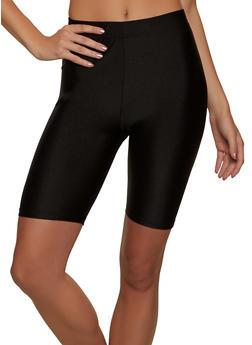 Solid Stretch Bike Shorts - 1411062703263
