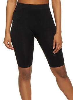 Solid Bermuda Bike Shorts - 1411062703878