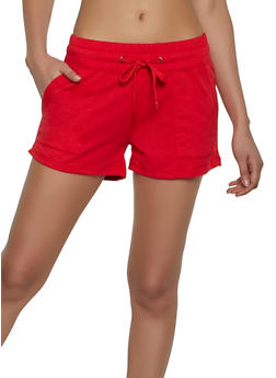 French Terry Lined Sweatshorts - 1411072290104