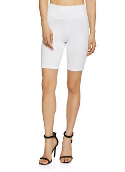 Bike Shorts White