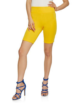 Scuba Knit Bike Shorts - 1411072290108
