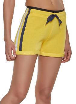 Varsity Stripe Sweat Shorts - 1411072290248