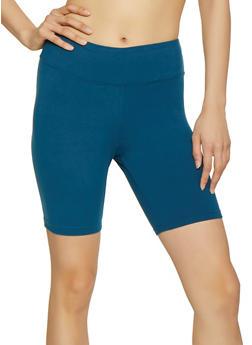 Soft Knit Bike Shorts   1411072291111 - 1411072291111