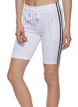 Zip Pocket Bermuda Shorts - 1411072291119