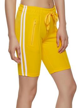 Womens Yellow Shorts