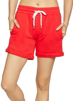 Fleece Sweat Shorts - 1411072299820