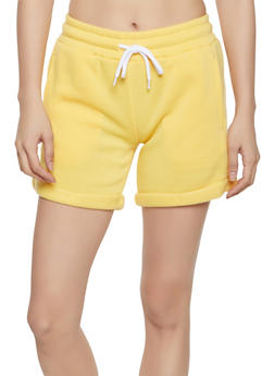 Fleece Sweat Shorts - 1411072299820
