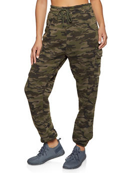 Cargo Fleece Lined Joggers - 1413063400203