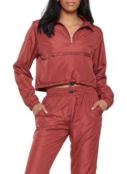 Fleece Lined Windbreaker - 1413063403798