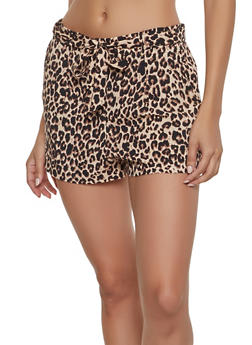 Womens Brown Shorts
