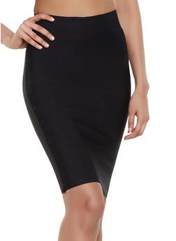 Basic Bandage Pencil Skirt - 1413068197073