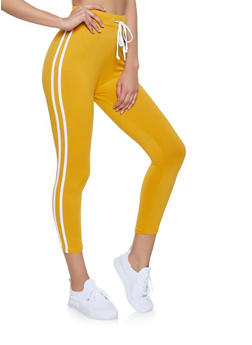 Varsity Stripe Soft Knit Leggings - 1413072290013