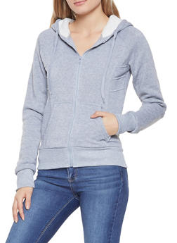 Sherpa Lined Hooded Sweatshirt - 1413072291186