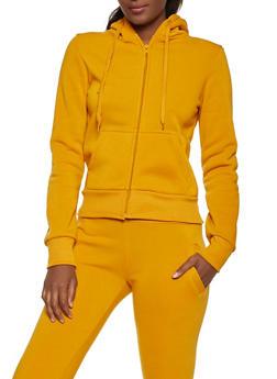 Fleece Lined 2 Pocket Sweatshirt - 1413072291776