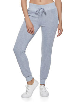 Solid Fleece Basic Joggers - 1413072296229
