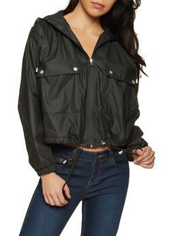 Hooded Rain Jacket - 1414038204001