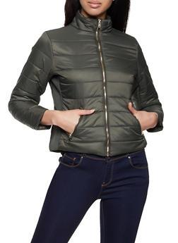 Zip Puffer Jacket - 1414038204010