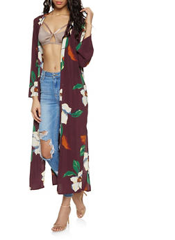 Floral Duster - 1414054210485
