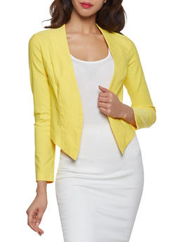 Solid Stretch Blazer | 1414068518516 - 1414068518516
