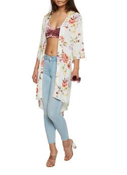 Floral Kimono - 1414069392602