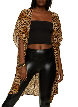 Cheetah Print Kimono - 1414069392929
