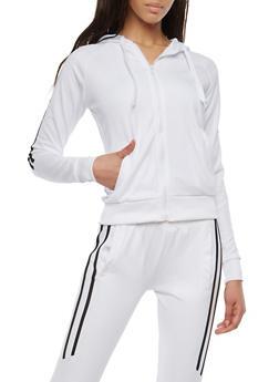 Side Stripe Sweatshirt - 1414072290015