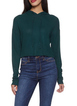 Brushed Knit Sweatshirt - 1416069390555