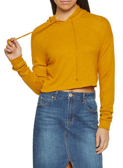 Brushed Knit Sweatshirt - 1416069390555