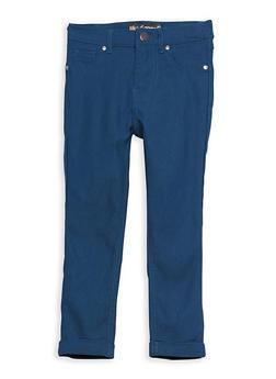 Girls 4-6x Hyperstretch Cuffed Pants - 1601056570006