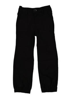 Girls 4-6x Hyperstretch Joggers | Black - 1601056570040