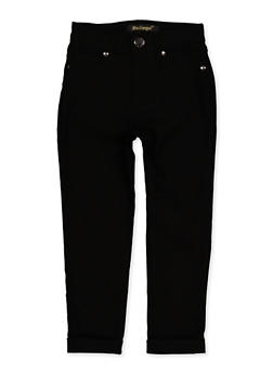 Girls 4-6x Fixed Cuff Hyperstretch Pants - 1601056570076
