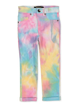 Girls 4-6x Hyperstretch Tie Dye Pants - 1601056570082