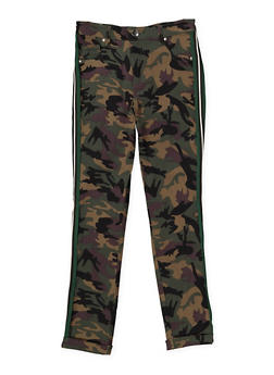 Girls 7-16 Camo Hyperstretch Pants - 1602056570068