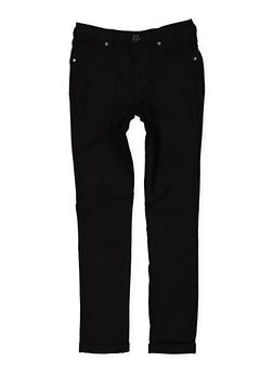 Girls 7-16 Cuffed Hyperstretch Pants - 1602056570100