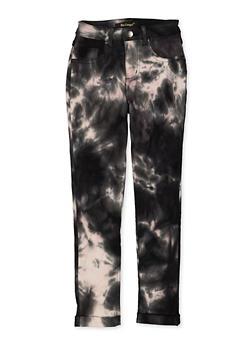 Girls 7-16 Tie Dye Hyperstretch Pants - 1602056570135