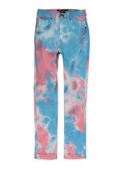 Girls Hyperstretch Tie Dye Pants - 1602056570160
