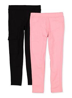 Girls 7-16 Cargo Pants Set - 1602061950027