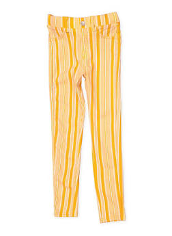 Girls 7-16 Striped Hyperstretch Jeggings | 1602063400087 - 1602063400087